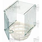 Hnízdo císařské plast/kov Art.056