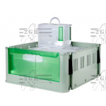 Plastové pouzdro se 6 přepravkami SECONDINO Art.203