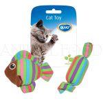Hračka pro kočku CAT TOY Fish & Candle mix