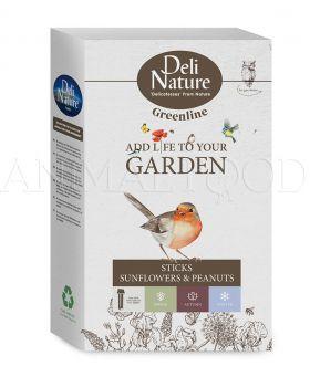Deli Nature Greenline Sticks Sunflowers & Peanuts 2ks