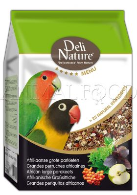 Deli Nature 5* African large parakeets 800g
